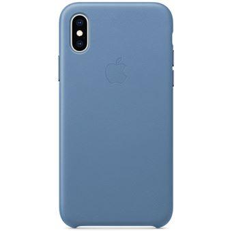 Capa Pele Apple para iPhone XS - Centáurea Azul
