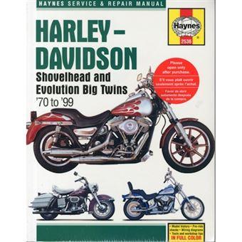 Harley davidson shovelhead & evolut
