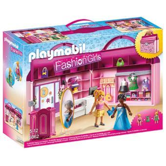 Playmobil Fashion Girls 6862 Maleta Loja de Moda