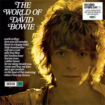 The World of David Bowie - LP 12''