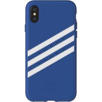 Capa Adidas Gazelle para iPhone X - Azul
