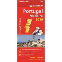 Mapa National Portugal-Madeira 2019