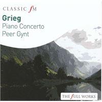 Grieg: Peer Gynt & Piano Concerto - CD