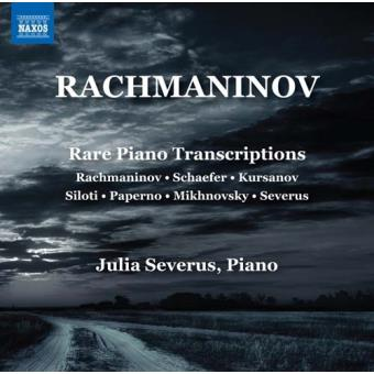 Rachmaninov-Rare Piano Transcriptions