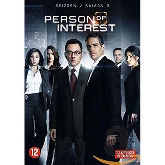 Person of Interest: Season 3 - 6DVD Importação