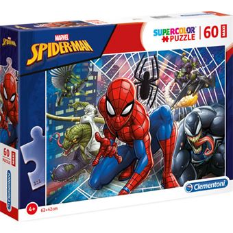 Puzzle Maxi Spiderman - 60 Peças - Clementoni