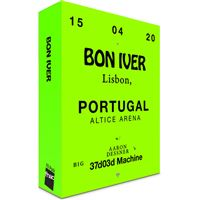 Fã Pack FNAC Bon Iver – Balcão 2   Preço: 35€ Pack + 2.58€ Custos de Operação