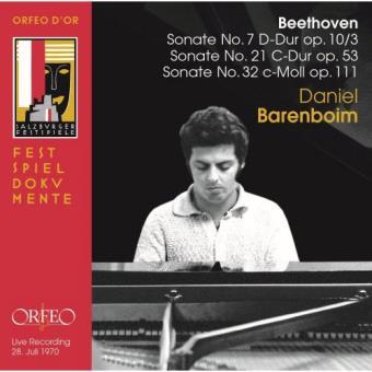 Beethoven: Piano Sonatas Nos 7, 21 & 32 - CD