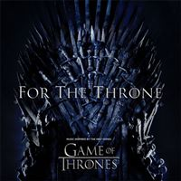 BSO Game of Thrones: For The Throne - LP Metallic Grey Vinil