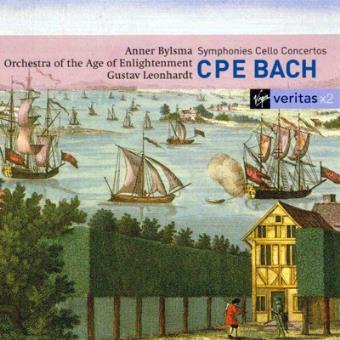 C.P.E. Bach | Symphonies & Cello Concertos (2CD)