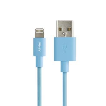 PNY C-UA-LN-B01-04 1.2m USB A Relâmpago Azul cabo USB