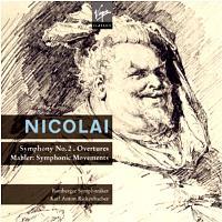 Nicolai: Symphony In D Major (2CD)