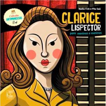 Antiprincesas - Livro 4: Clarice Lispector