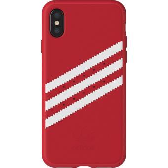 Capa Adidas Gazelle para iPhone X - Vermelho
