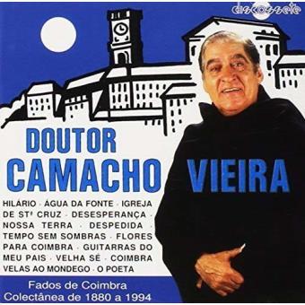 Fados de Coimbra-Doutor Camacho Vie - CD