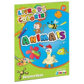 Livro de Colorir: Animais