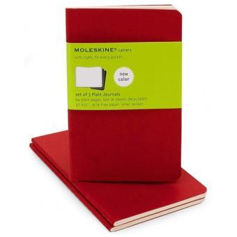 Moleskine: Caderno Liso Bolso Vermelho