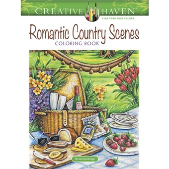 Creative haven romantic country sce