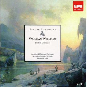 Vaughan Williams: Symphonies Nos. 1-9 (5CD)