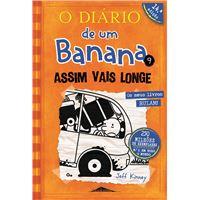 O Diário de um Banana - Livro 9: Assim Vais Longe