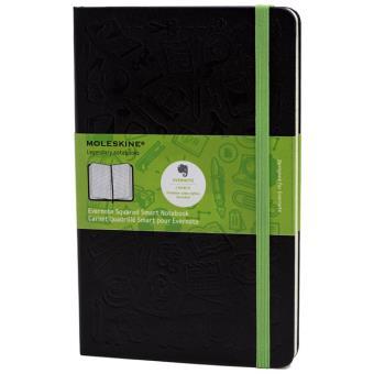 Moleskine: Caderno Evernote Smart Quadriculado Grande