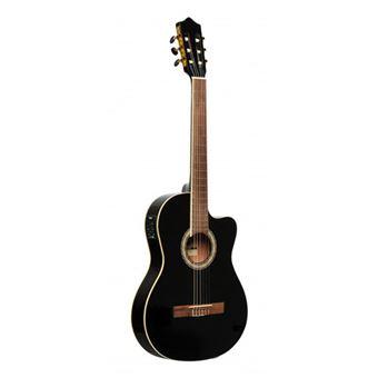 Guitarra Clássica Eléctrica - SCL60 TCE-BLK Stagg