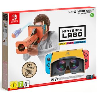 Nintendo Switch Labo: Kit VR – Pack Inicial + Desintegrador