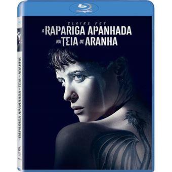 A Rapariga Apanhada na Teia de Aranha - Blu-ray