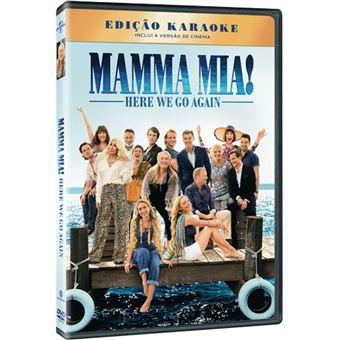 Mamma Mia Here We Go Again Dvd Ol Parker Lily James Amanda