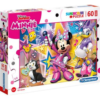 Puzzle Maxi Minnie - 60 Peças - Clementoni