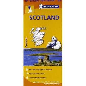 Scotland Michelin Regional Map