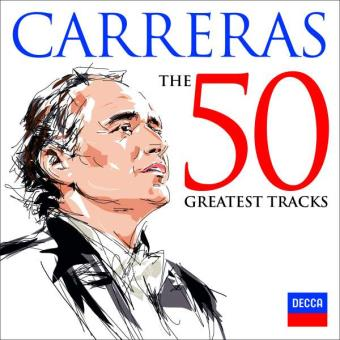 Carreras 50 Greatest Tracks (2CD)