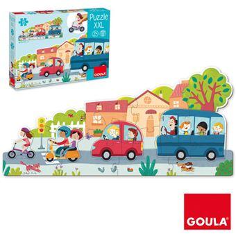 Puzzle XXL Veículos - Goula