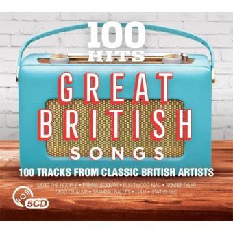100 Hits: Great British Songs - 5CD