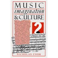 MUSIC IMAGINATION AND CULTURE