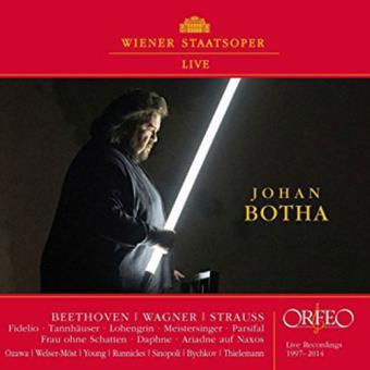 Johan Botha: Wiener Staatsoper Live 1997-2014