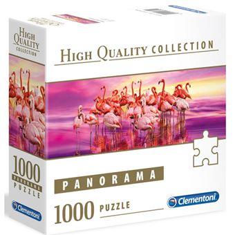Puzzle Panorama Flamingo Dance - 1000 Peças - Clementoni