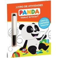 Panda Vamos Brincar! Livro Atividades