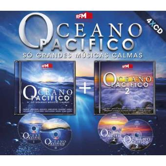 Vários Oceano Pacífico Só Grandes Músicas 4cd Cd álbum