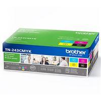 Pack Toner Brother TN-243CMYK - Preto | Ciano | Magenta | Amarelo