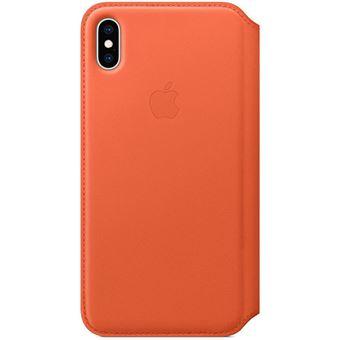 Capa Pele Folio Apple para iPhone XS Max - Pôr do Sol