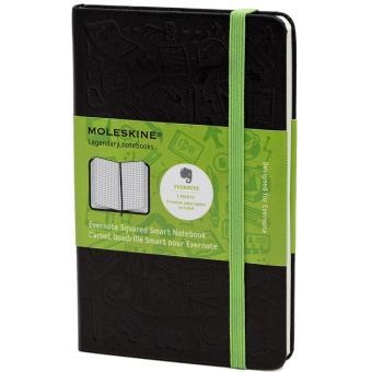 Moleskine: Caderno Evernote Smart Quadriculado Bolso