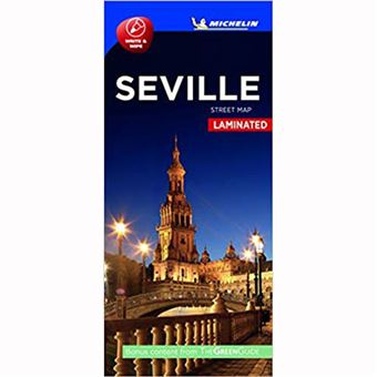 Plano Plastificado Sevilla