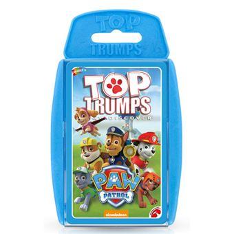 Jogo de Cartas Top Trumps Paw Patrol - Creative Toys