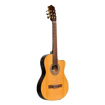 Guitarra Clássica Eléctrica - SCL60 TCE-NAT Stagg