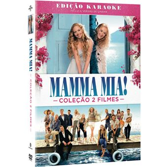 Pack Mamma Mia! + Mamma Mia! Here We Go Again - 2DVD
