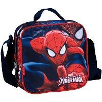Lancheira Quadrada Ultimate Spider-Man