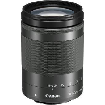 Objetiva Canon EF-M 18-150mm f/3.5-6.3 IS STM - Graphite