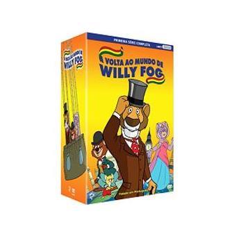 Caixa A Volta ao Mundo de Willy Fog