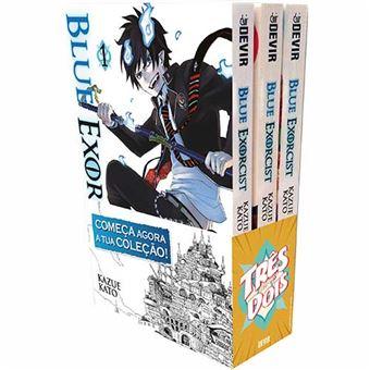 Blue Exorcist Pack 1, 2 e 3